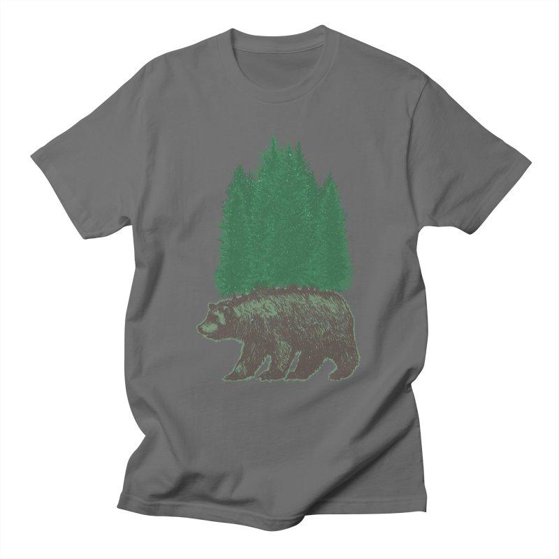 Nature Walk Men's T-Shirt by nickv47