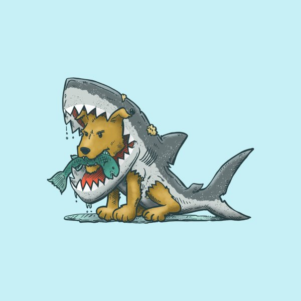 image for Shark Suit Dog