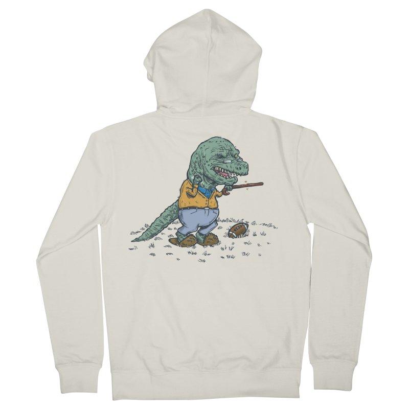 Geriatricasaur Men's Zip-Up Hoody by nickv47