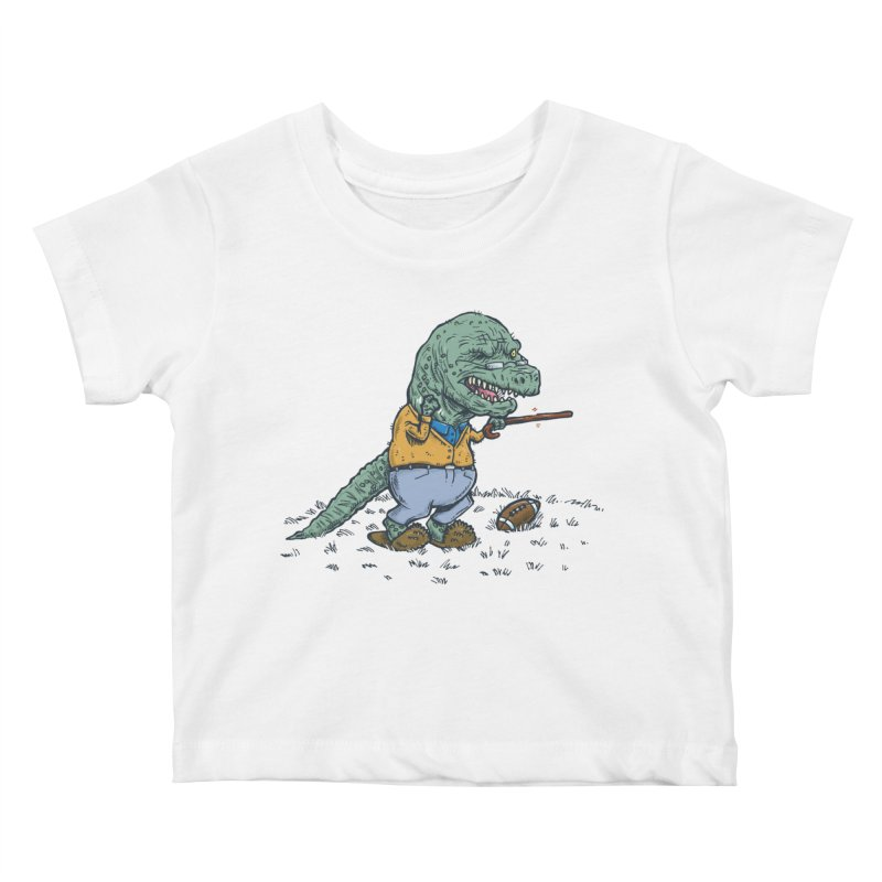 Geriatricasaur Kids Baby T-Shirt by nickv47