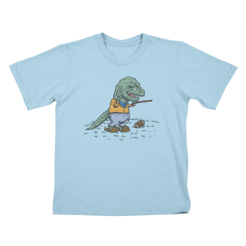 Geriatricasaur Kids T-Shirt by nickv47
