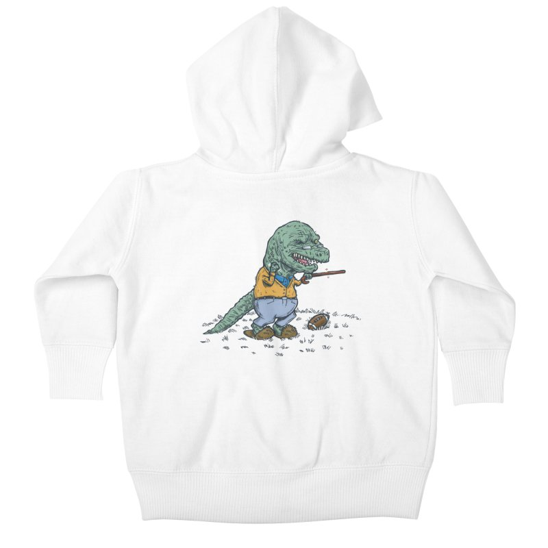Geriatricasaur Kids Baby Zip-Up Hoody by nickv47
