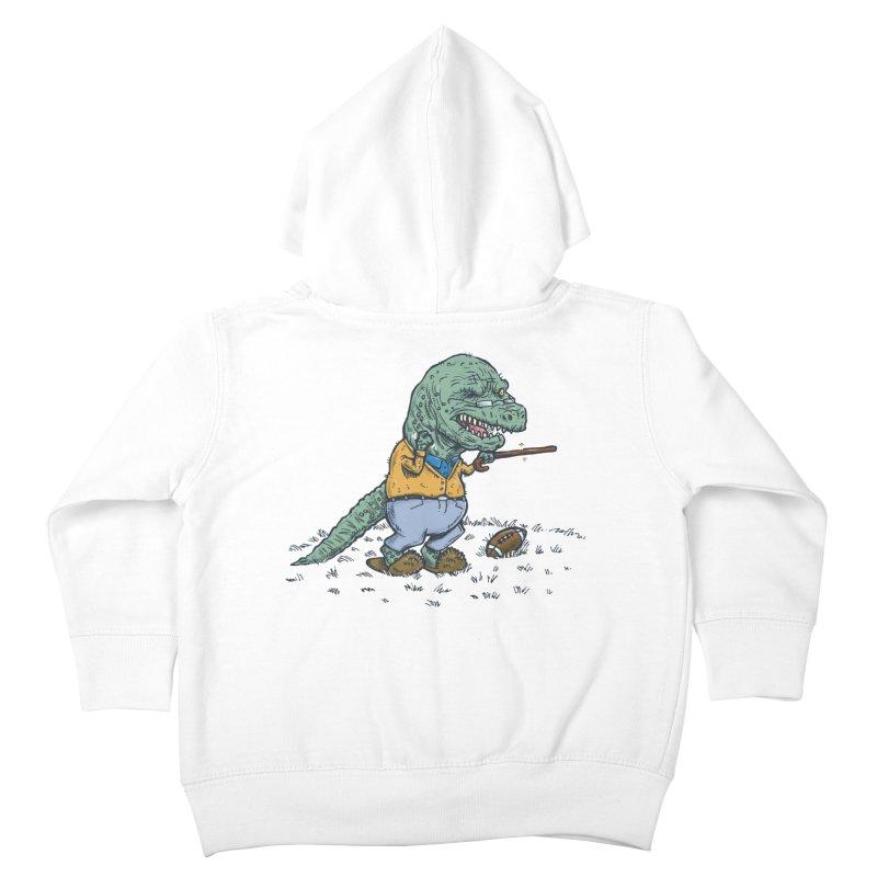 Geriatricasaur Kids Toddler Zip-Up Hoody by nickv47