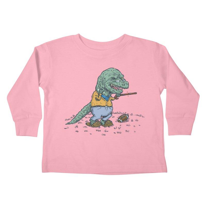 Geriatricasaur Kids Toddler Longsleeve T-Shirt by nickv47
