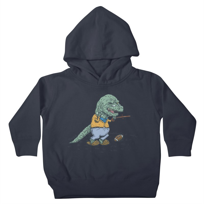 Geriatricasaur Kids Toddler Pullover Hoody by nickv47