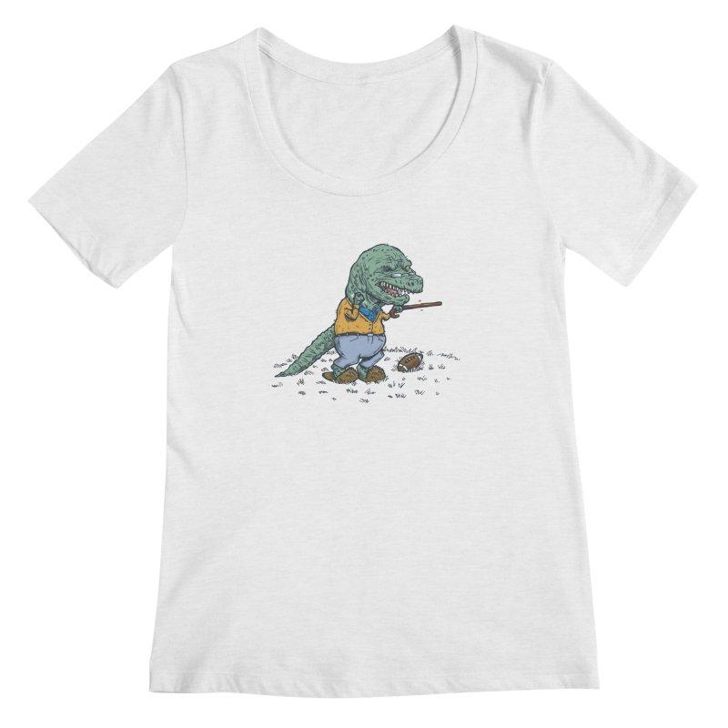 Geriatricasaur Women's Scoopneck by nickv47