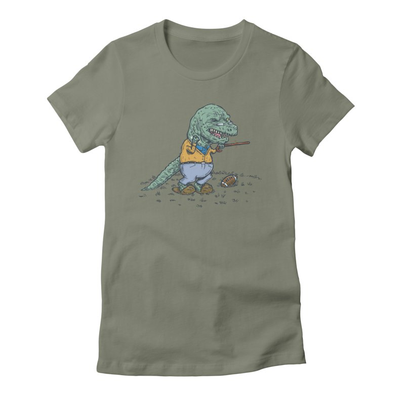 Geriatricasaur Women's Fitted T-Shirt by nickv47