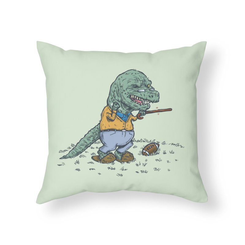 Geriatricasaur Home Throw Pillow by nickv47