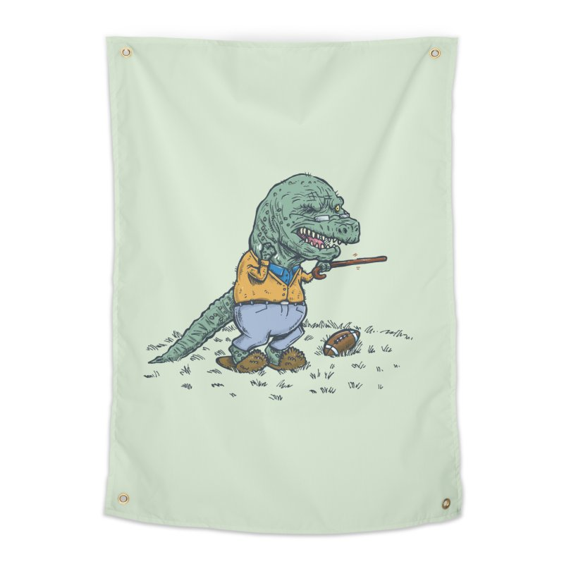 Geriatricasaur Home Tapestry by nickv47