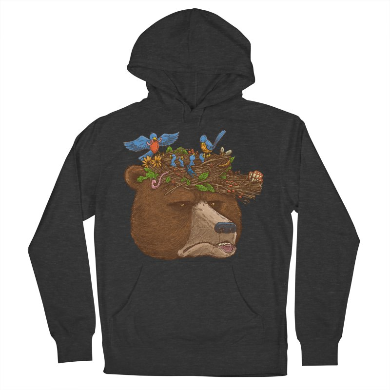 Mr Bear's Nature Hat 2017 Men's Pullover Hoody by nickv47