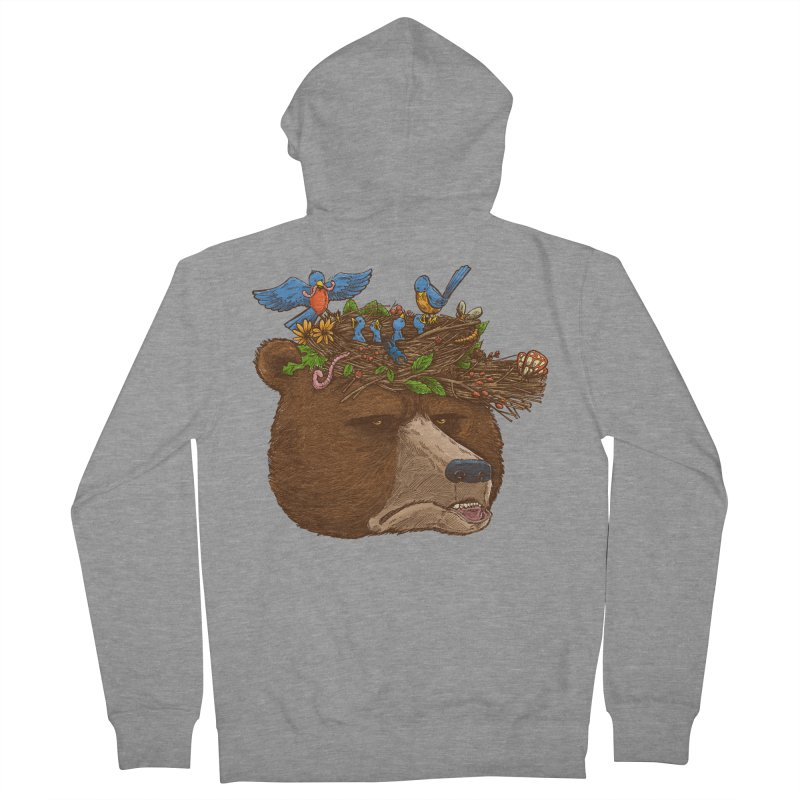 Mr Bear's Nature Hat 2017 Women's Zip-Up Hoody by nickv47