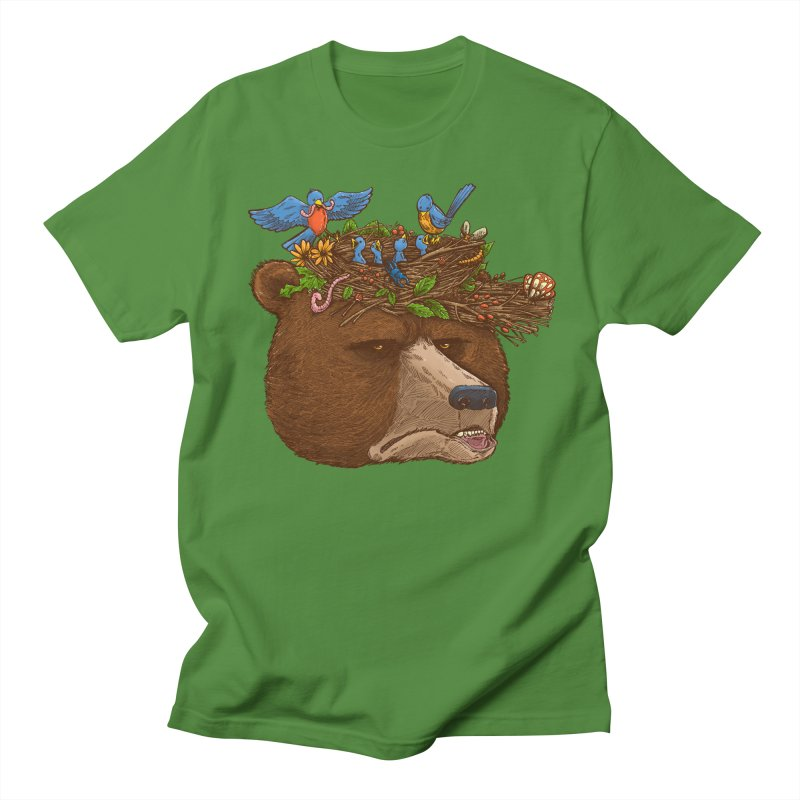 Mr Bear's Nature Hat 2017 Men's T-shirt by nickv47