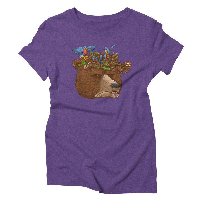Mr Bear's Nature Hat 2017 Women's Triblend T-shirt by nickv47