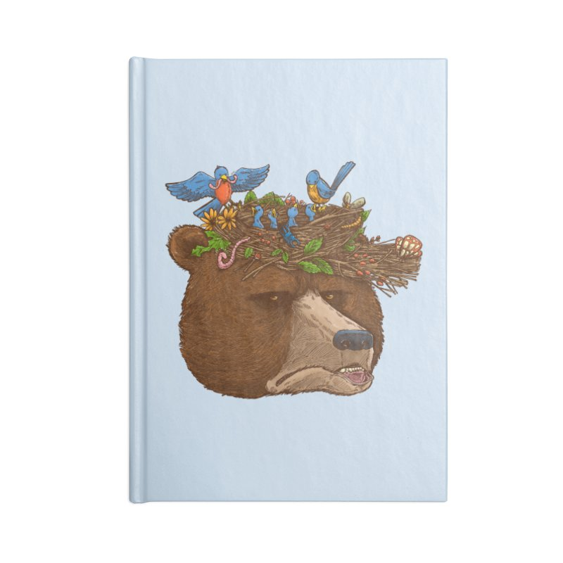 Mr Bear's Nature Hat 2017 Accessories Notebook by nickv47