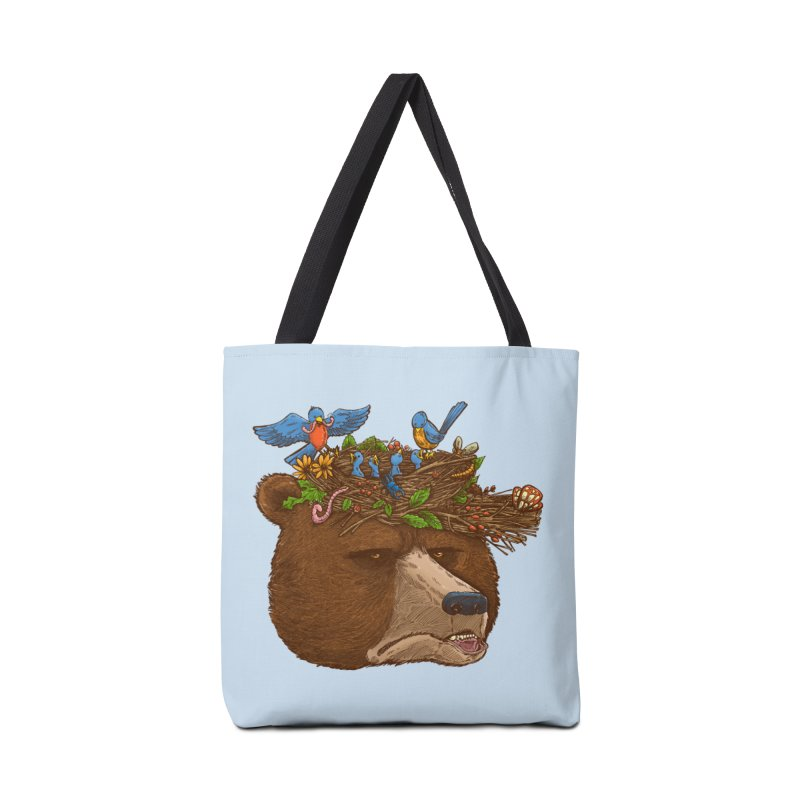 Mr Bear's Nature Hat 2017 Accessories Bag by nickv47