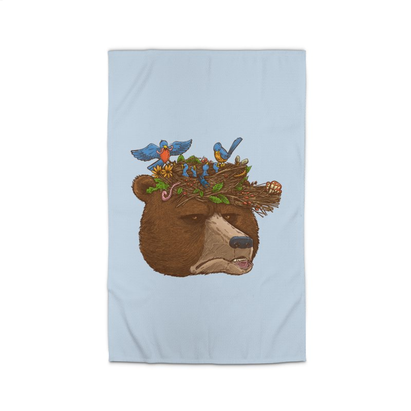 Mr Bear's Nature Hat 2017 Home Rug by nickv47