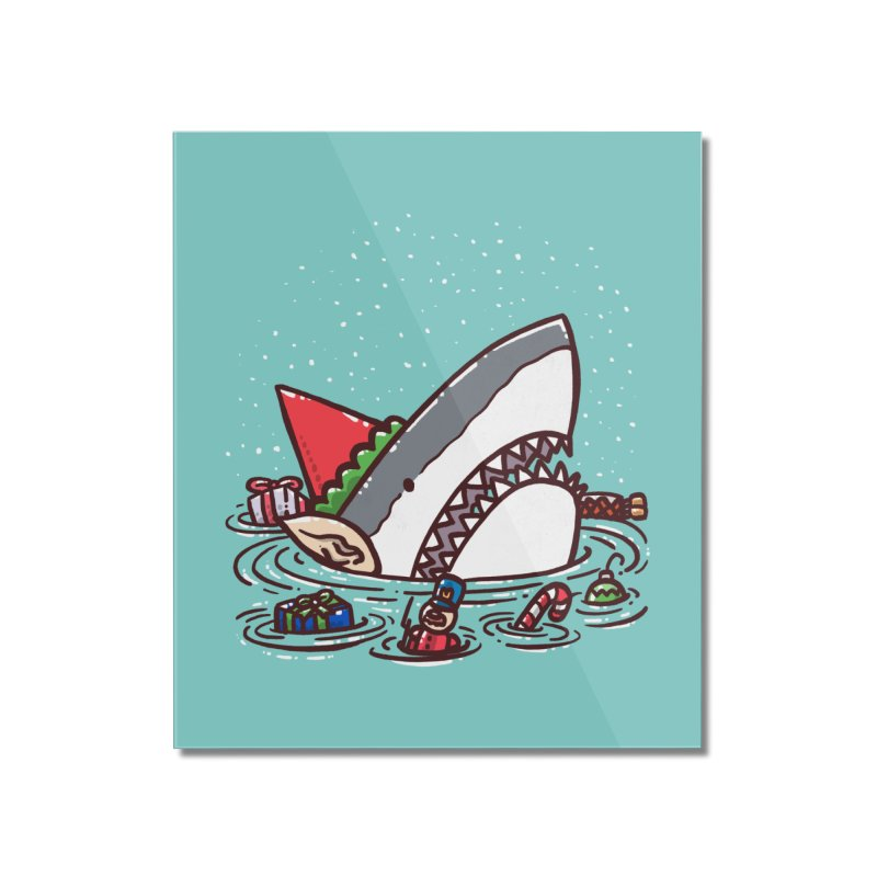 The Elf Shark Home Mounted Acrylic Print by nickv47