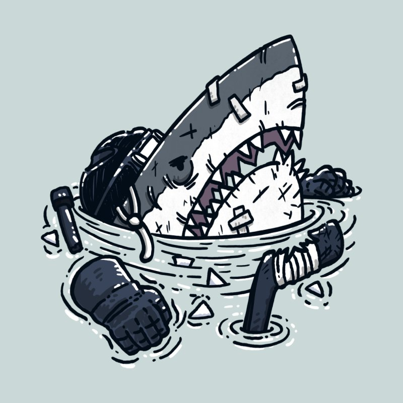 The Goon Shark Men's Tank by nickv47