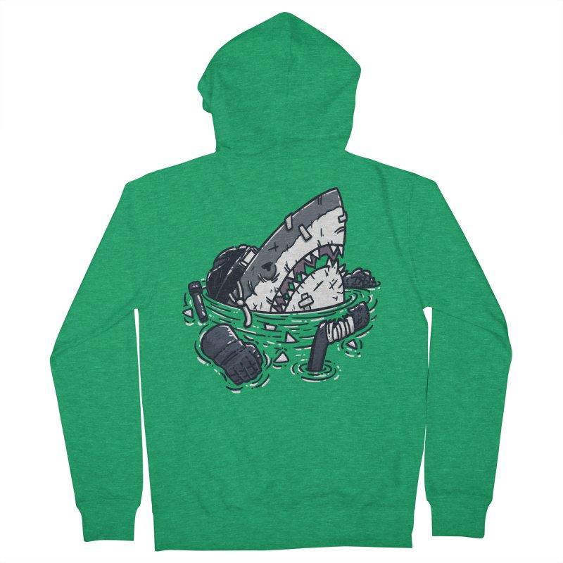 The Goon Shark Men's Zip-Up Hoody by nickv47