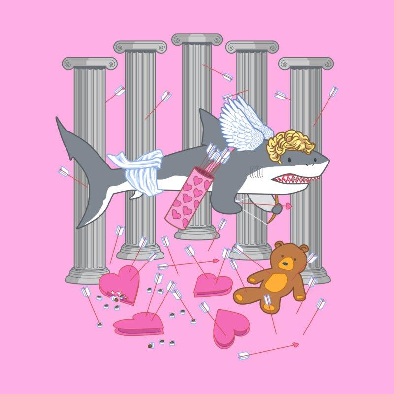 The Cupid Shark Men's Zip-Up Hoody by nickv47