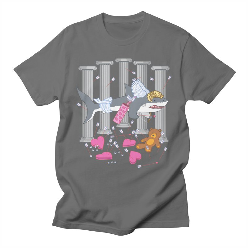 The Cupid Shark Men's T-Shirt by nickv47