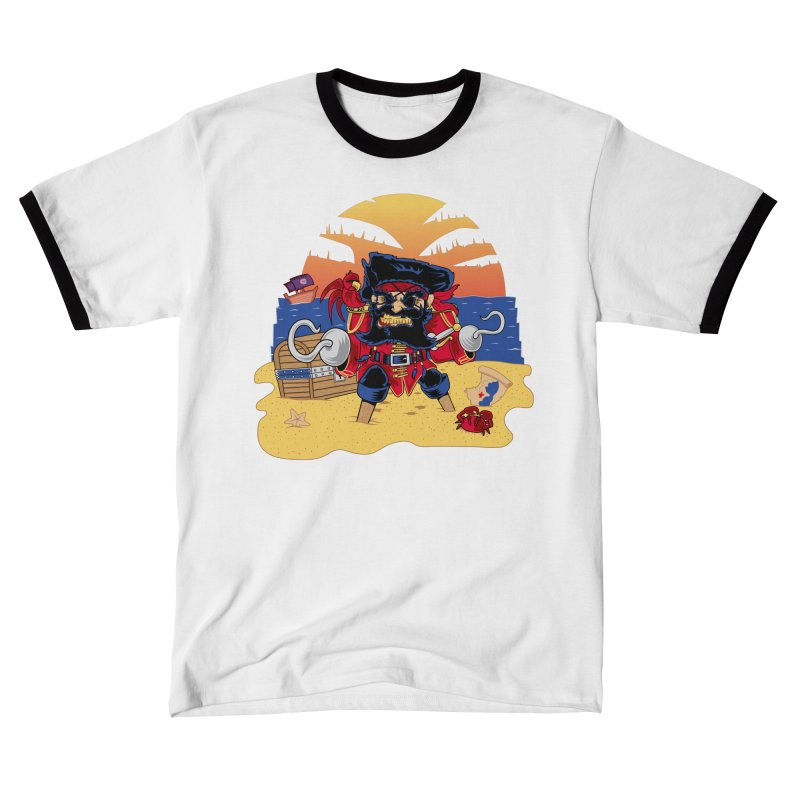 Lucky the Pirate Men's T-Shirt by nickv47