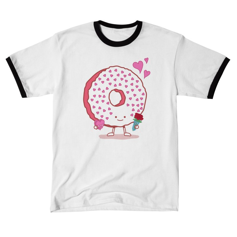 Valentine's Day Donut Men's T-Shirt by nickv47