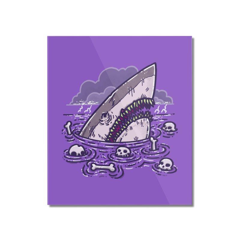 Nighmare Shark Home Mounted Acrylic Print by nickv47