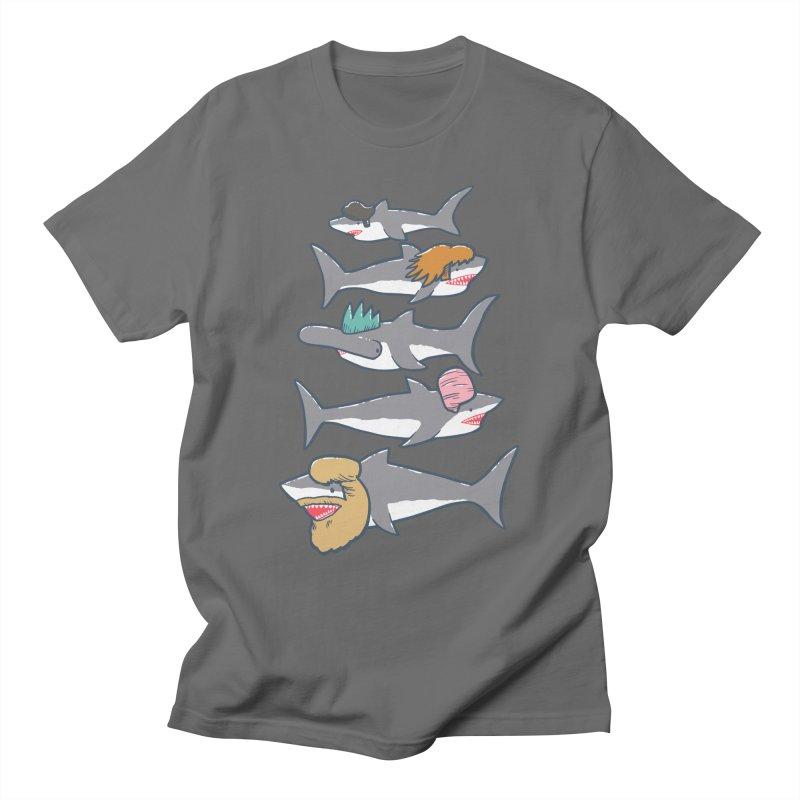 Shark Doos Men's T-Shirt by nickv47