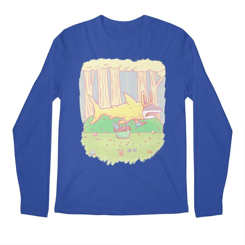 The Easter Bunny Shark Men's Longsleeve T-Shirt by nickv47