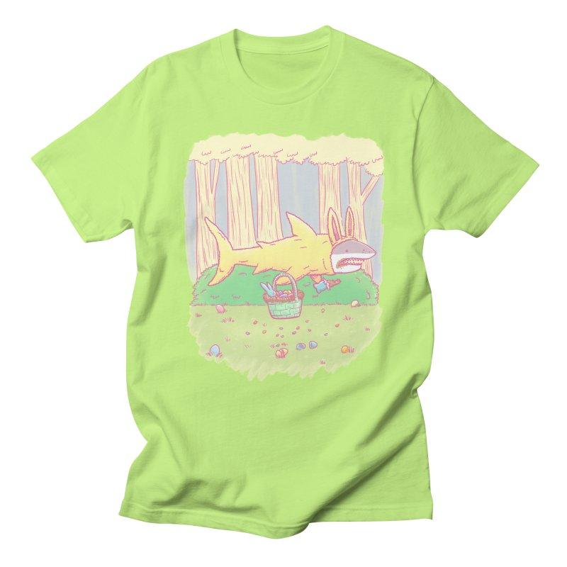 The Easter Bunny Shark Men's T-shirt by nickv47