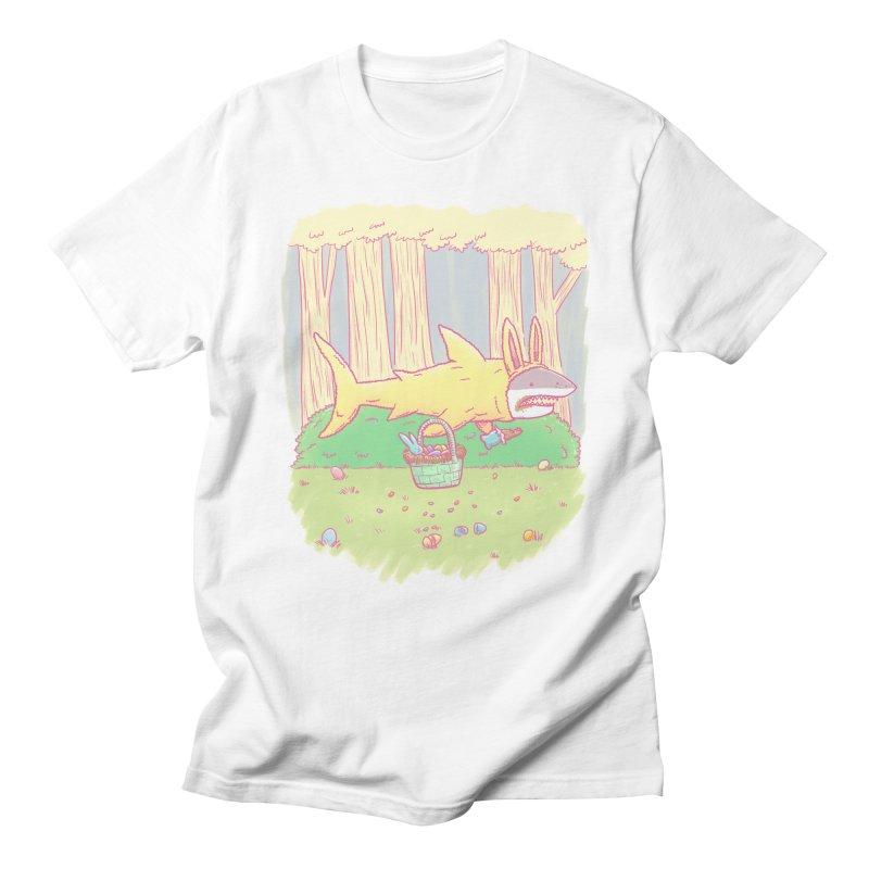 The Easter Bunny Shark Women's Unisex T-Shirt by nickv47