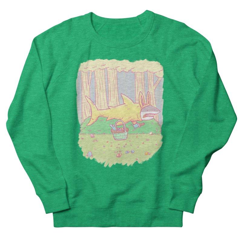 The Easter Bunny Shark Men's Sweatshirt by nickv47