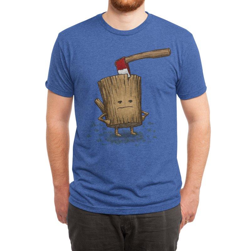 Bad Day Log 3: Splitting Headache Men's T-Shirt by nickv47