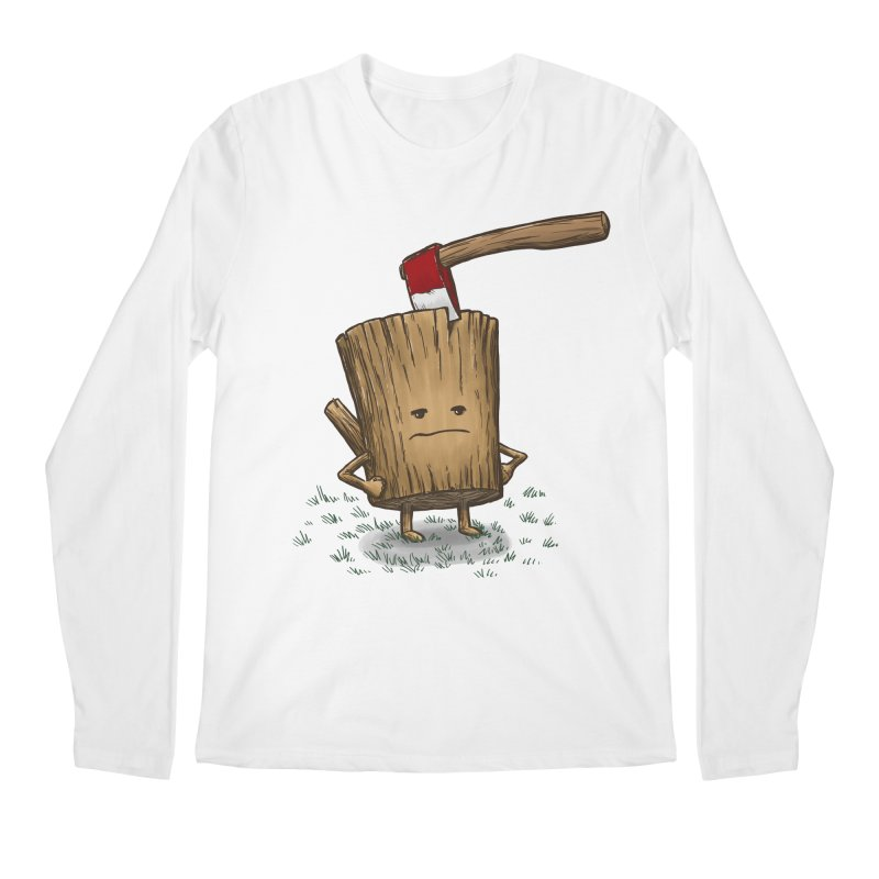 Bad Day Log 3: Splitting Headache Men's Longsleeve T-Shirt by nickv47