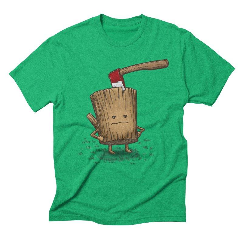 Bad Day Log 3: Splitting Headache Men's Triblend T-Shirt by nickv47