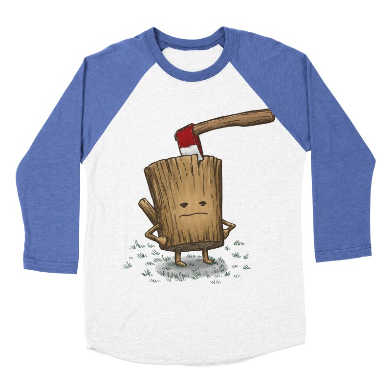 Bad Day Log 3: Splitting Headache Women's Baseball Triblend T-Shirt by nickv47