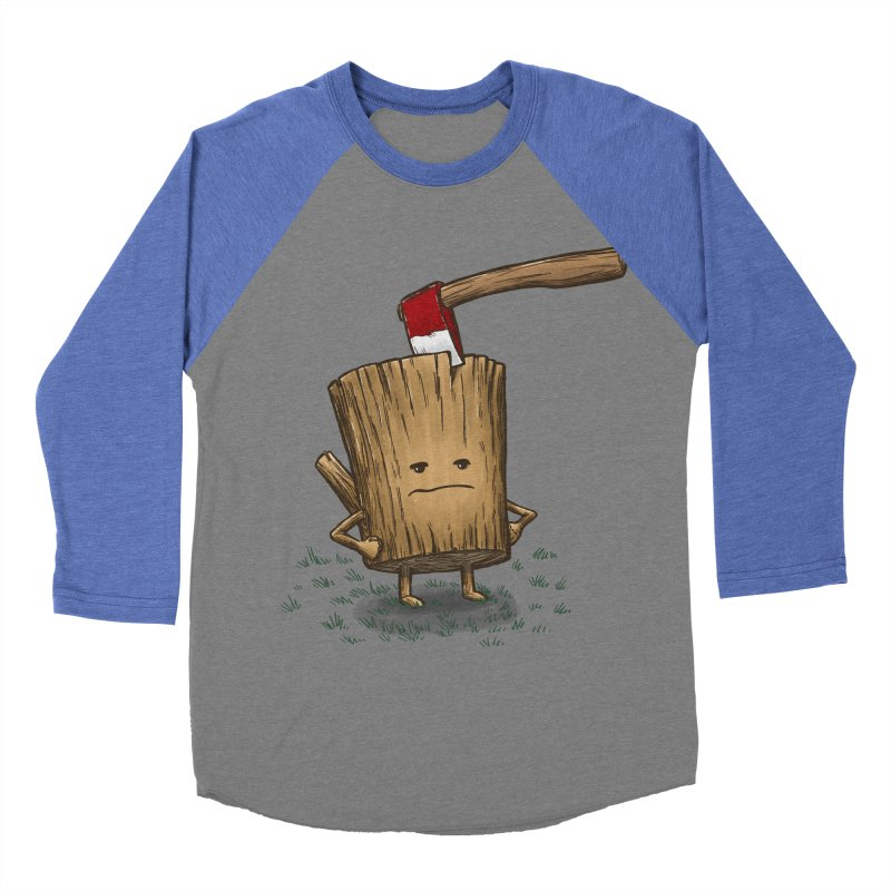 Bad Day Log 3: Splitting Headache Men's Baseball Triblend T-Shirt by nickv47