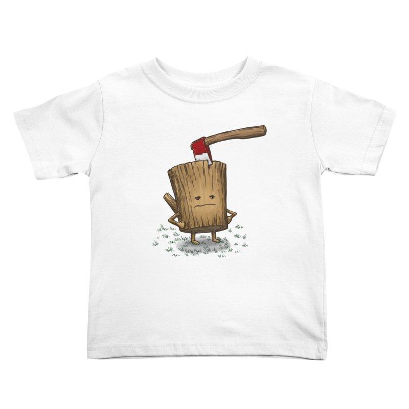 Bad Day Log 3: Splitting Headache Kids Toddler T-Shirt by nickv47