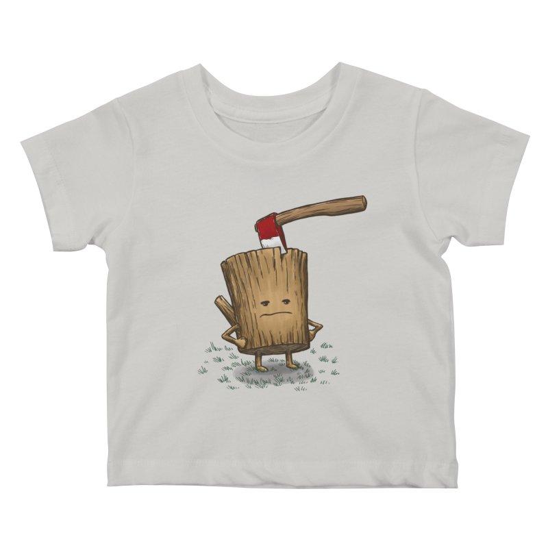 Bad Day Log 3: Splitting Headache Kids Baby T-Shirt by nickv47