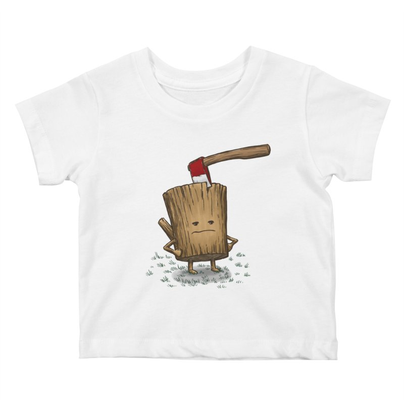 Bad Day Log 3: Splitting Headache Kids Baby T-Shirt by nickv47