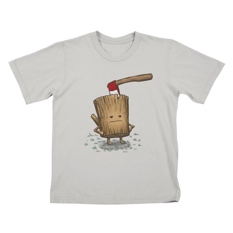 Bad Day Log 3: Splitting Headache Kids T-Shirt by nickv47