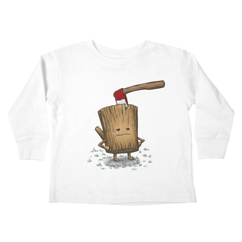 Bad Day Log 3: Splitting Headache Kids Toddler Longsleeve T-Shirt by nickv47