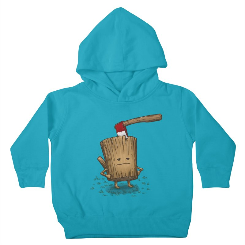 Bad Day Log 3: Splitting Headache Kids Toddler Pullover Hoody by nickv47