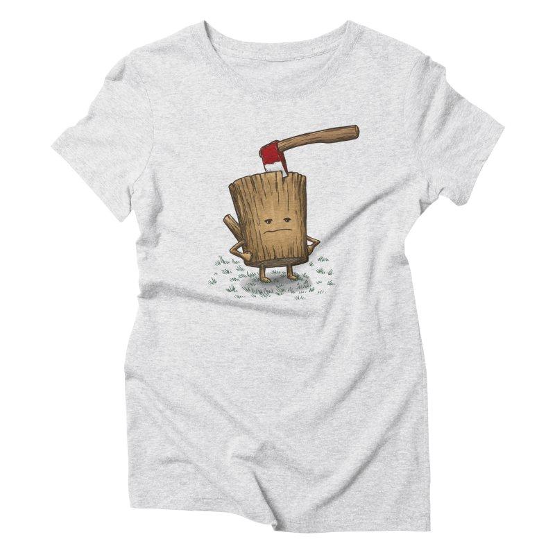 Bad Day Log 3: Splitting Headache Women's Triblend T-shirt by nickv47