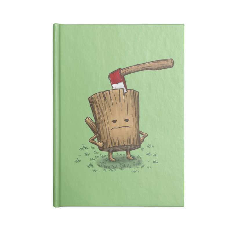 Bad Day Log 3: Splitting Headache Accessories Notebook by nickv47