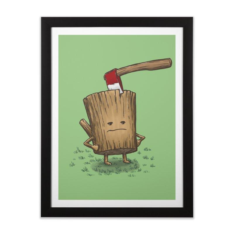 Bad Day Log 3: Splitting Headache Home Framed Fine Art Print by nickv47