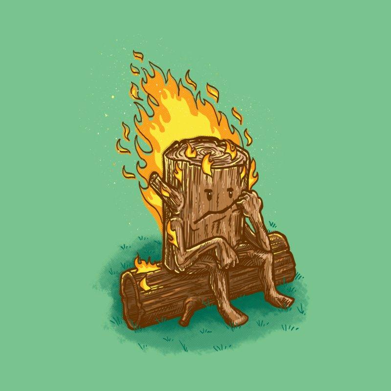 Bad Day Log Men's T-Shirt by nickv47