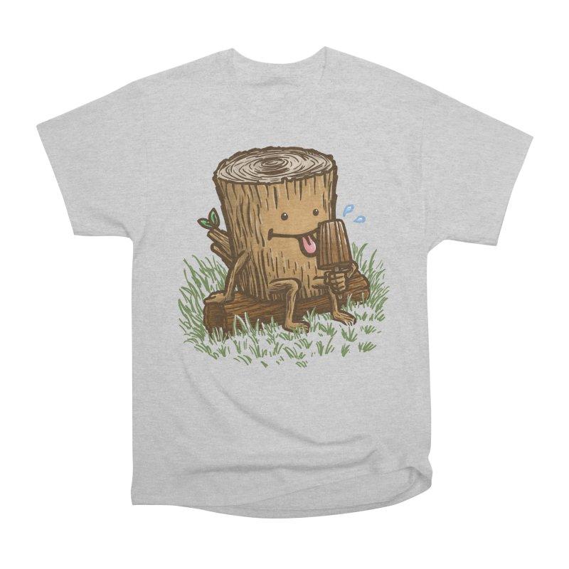 The Popsicle Log Men's T-Shirt by nickv47