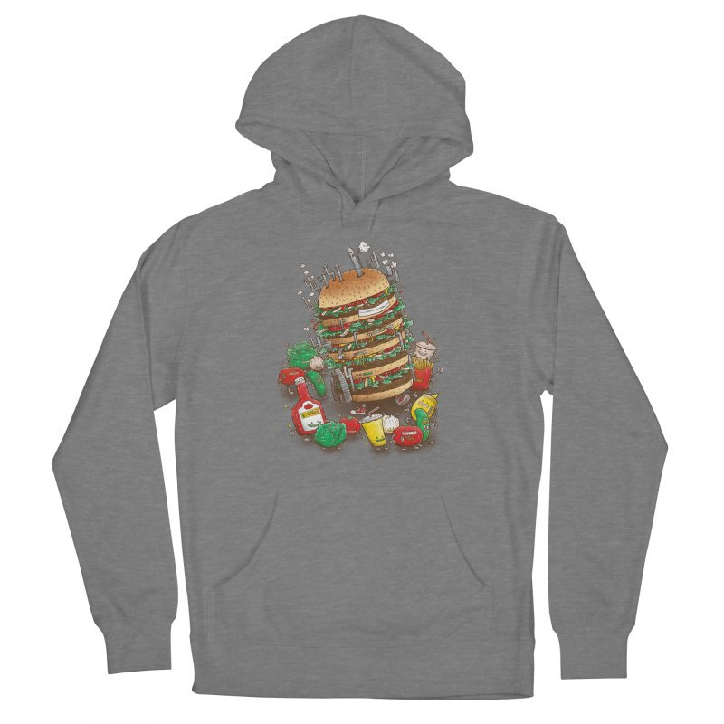 Uber BurgerBot Women's Pullover Hoody by nickv47